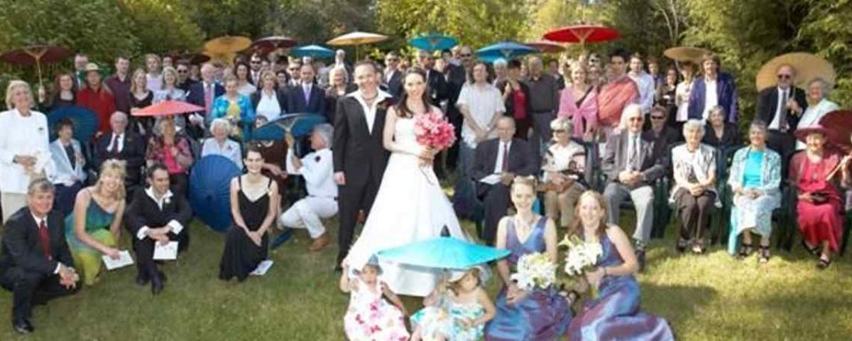 Chiang Mai Classic Umbrellas - Thai Oiled Umbrellas - Wedding in Australia