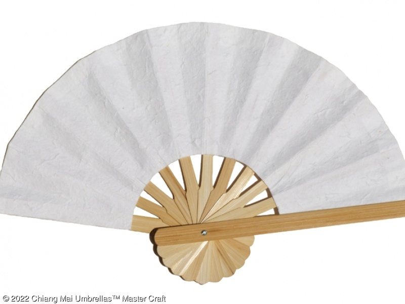 mulberry paper fans with bamboo frame sunisa umbrella
