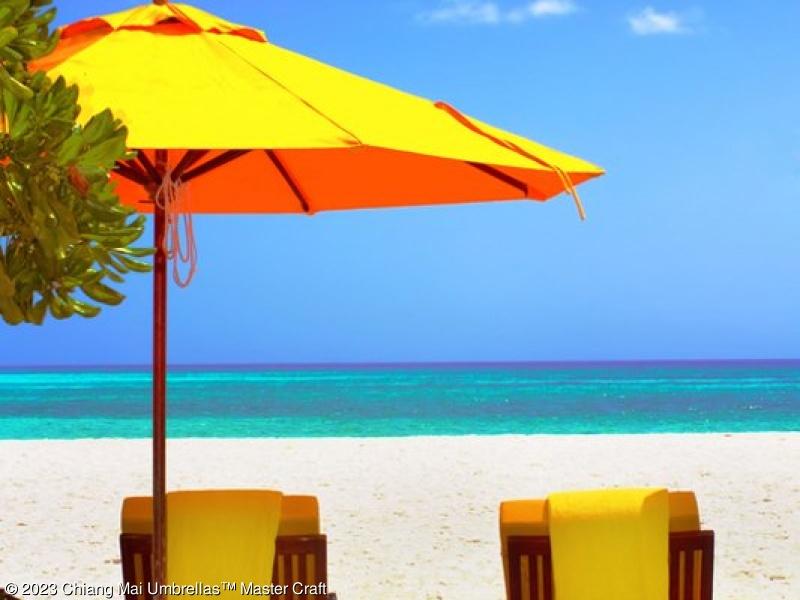 Beautiful Heavy Duty Patio Umbrella Yellow Market On A Seaside Pool  1493367597 Inspiration Decorating