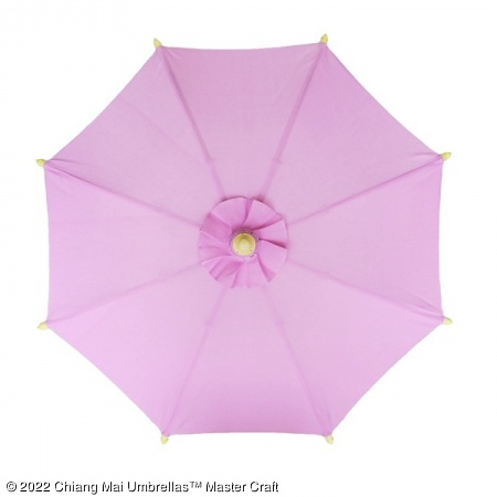 Color sample: Lilac Canvas Umbrella