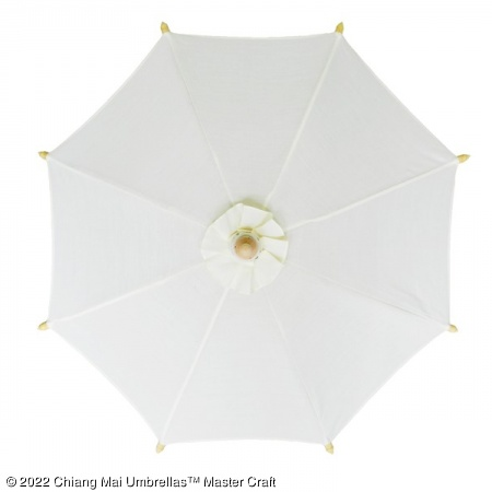 Color sample: Off-White Canvas Umbrella