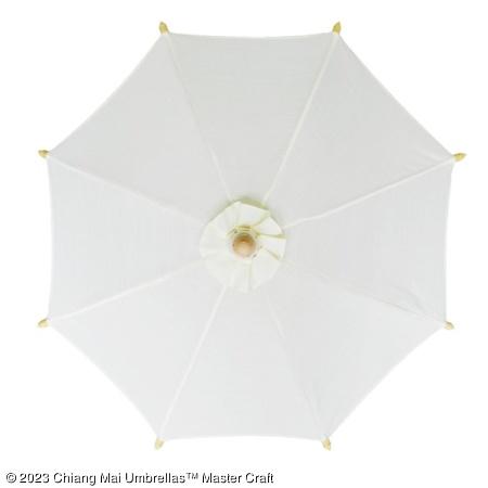 Color sample: Off-White Canvas Umbrella