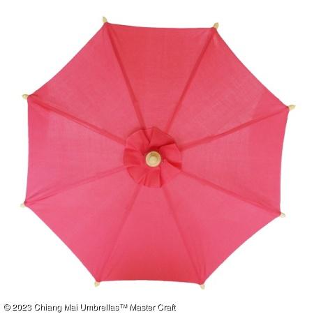 Color sample: Pink Canvas Umbrella