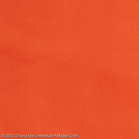 Artificial Silk Umbrella - Orange