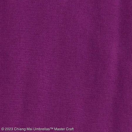 Artificial Silk Umbrella - Dark Violet