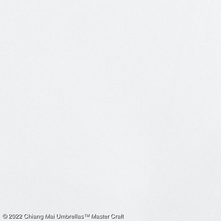 Artificial Silk Umbrella - White
