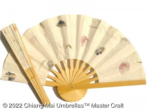 Popular Wedding Fans, Paper Fans, Fabric Fans, Natural Pressed Flowers Fans