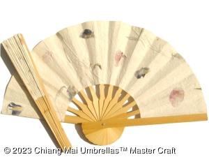 Popular Wedding Fans, Paper Fans, Fabric Fans, Natural Pressed Flowers Fans