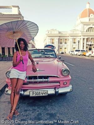 Grey Brelli in Havana by Brelli customer Desiree