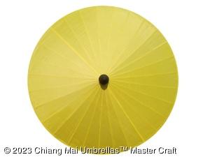 Image - Fabric Umbrella in Yellow