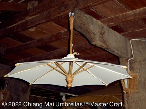 Image - Canvas Umbrella Hanging Up Side Down