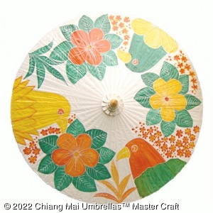 Image - Chiang Mai Classic Wholesale Patio Umbrellas with Hand Painted Designs