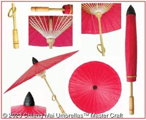 Chiang Mai Classic Umbrella - Details