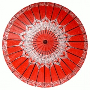 Chiang Mai Classic™ Umbrellas - Paintings Samples