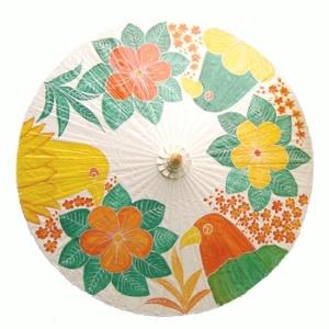 Chiang Mai Classic™ Patio Umbrellas - Paintings Samples