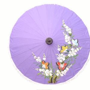Artificial Silk - Light Fabric Umbrellas - Painting Samples