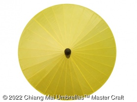 Image - Fabric Umbrella in Yellow