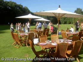 Image - Chiang Mai Classic™ Patio Umbrellas - UK Wedding