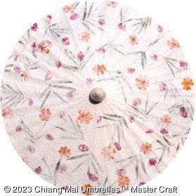 Pressed Flowers Wedding Umbrellas